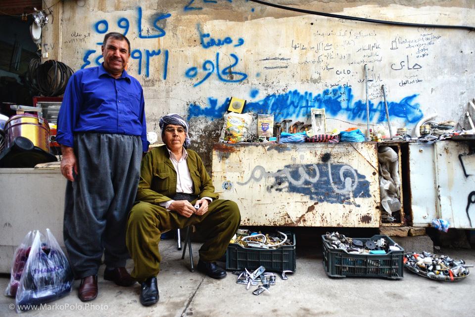 Door handles n stuff in Erbil bazaar