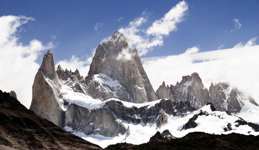 Argentina (1) - Mt. Fitz Roy in Patagonia