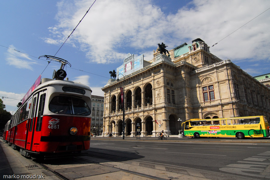 Austria (6) - Opera and ballet theater in Viena