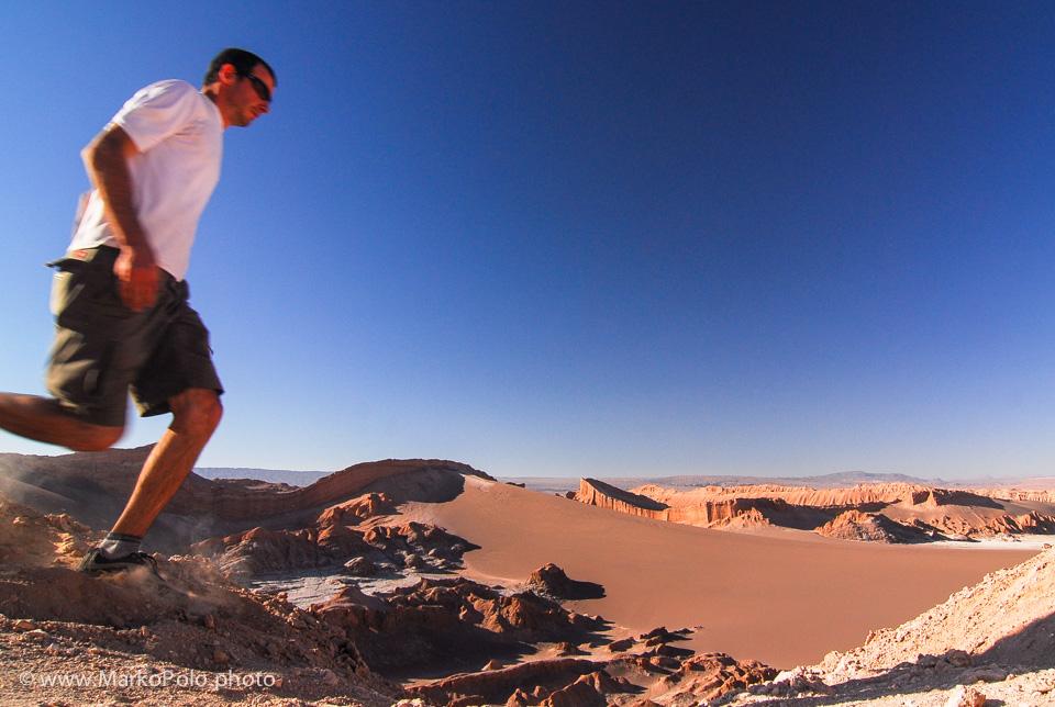 Chile (1) - Running in Salar de Atacama