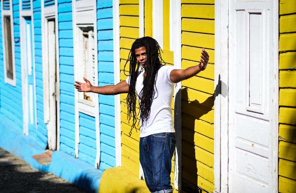 Dominican Republic (1) - Rasta man in Santo Domingo