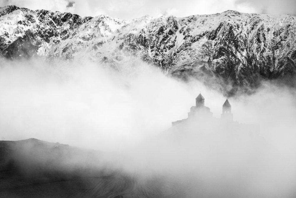 Georgia (30+) - Kazbegi Monastery