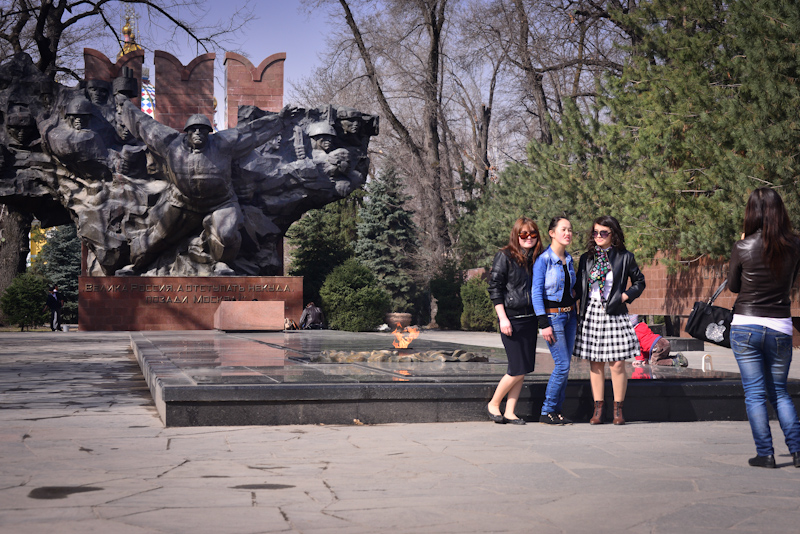 Kazakhstan (1) - War memorial in Almaty