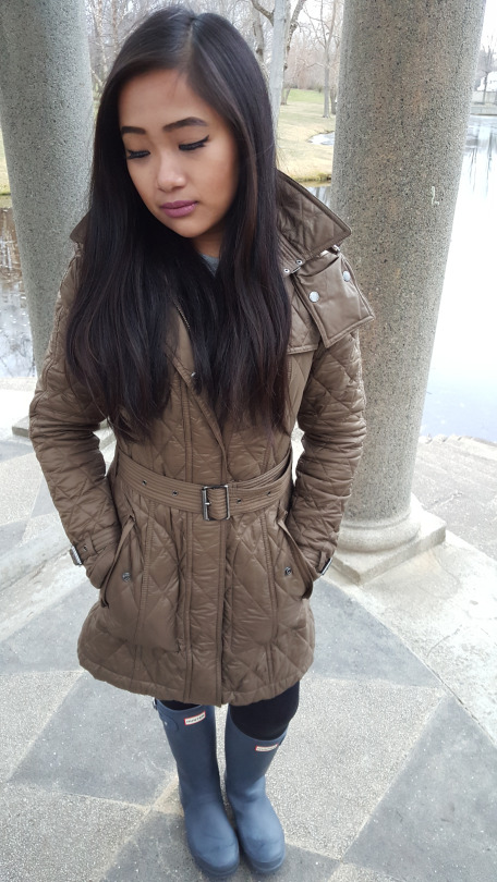 Burberry Finsbridge Diamond Quilted Coat Review This Is Yna