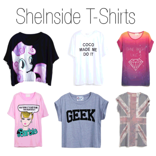 sheinside, sheinside t-shirts, t-shirts