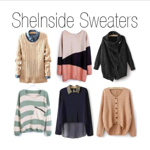sheinside, sheinside sweaters, sweaters