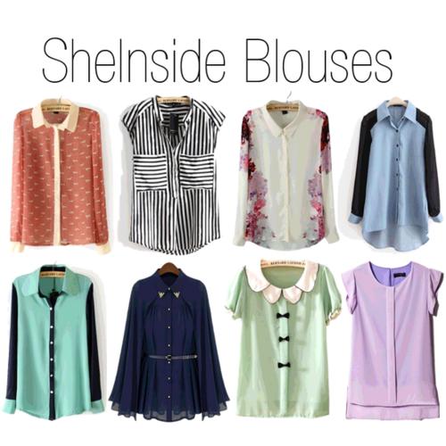 sheinside, sheinside blouses, blouses