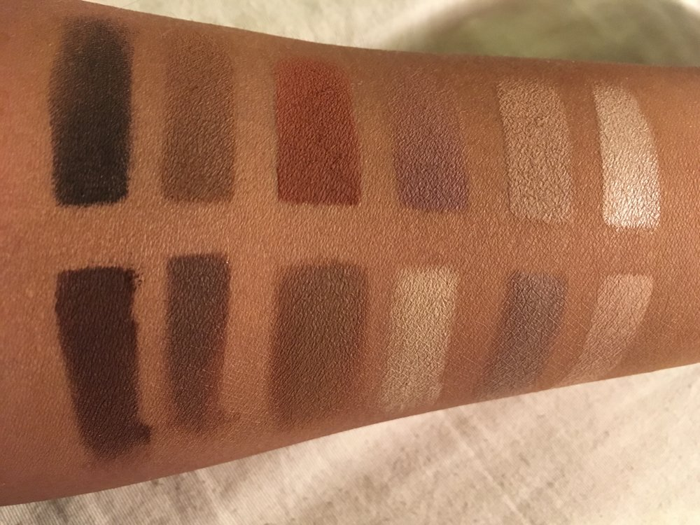 this is yna urban decay naked ultimate basics swatches