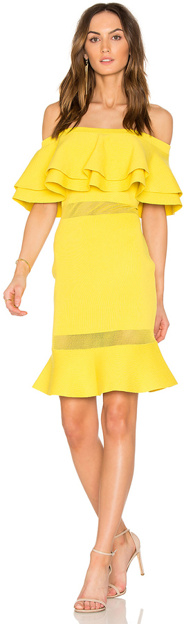 Endless Rose Flared Sweater Off the Shoulder Dress -