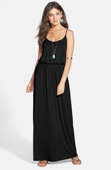 Lush Knit Maxi Dress -