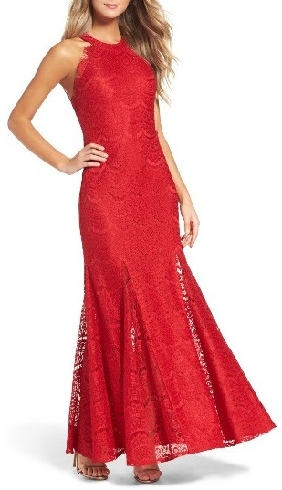Morgan & Co. Open Back Dress -