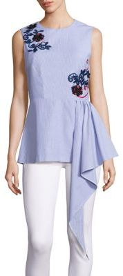 SUNO Cascade Sleeveless Top -