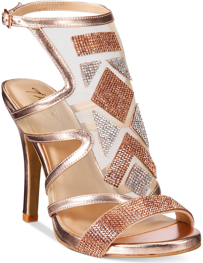 Thalia Sodi Regalo Embellished Sandals -