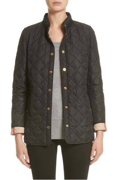 Burberry Pensham Quilted Jacket - Y'all know I love my Burberry jacket, and this classic style is in the sale for almost $300 off! Sale: $499.90 After Sale: $795.00