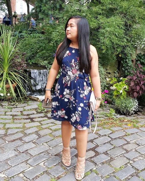 dress: lush | bag: kate spade | shoes: michael kors