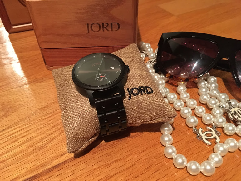 Which would you cop for 2 hundos - my mom's fake Chanel pearls or my real Jord watch?