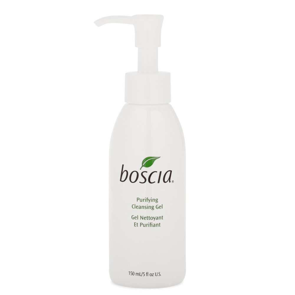 Boscia Purifying Cleansing Gel - Now that Gerome and I are living together, I've started getting him into skincare. He has more acne prone skin than I do, and I've also been having a lot more acne flareups (because of stress or biotin supplements I've started taken – not sure which) so I picked out a new cleanser that's easy on the skin but still helpful in fighting acne.