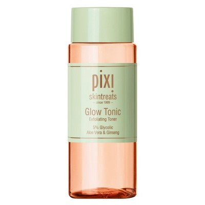 Pixi skintreats Glow Tonic - I distinctly remember having my skin go through hell last year when I was in Texas and needing to pick up something exfoliating. This has been really good at keeping my oil and dirt-related problems at bay, and the aloe vera ensures that it doesn't strip my skin of the moisture it needs.