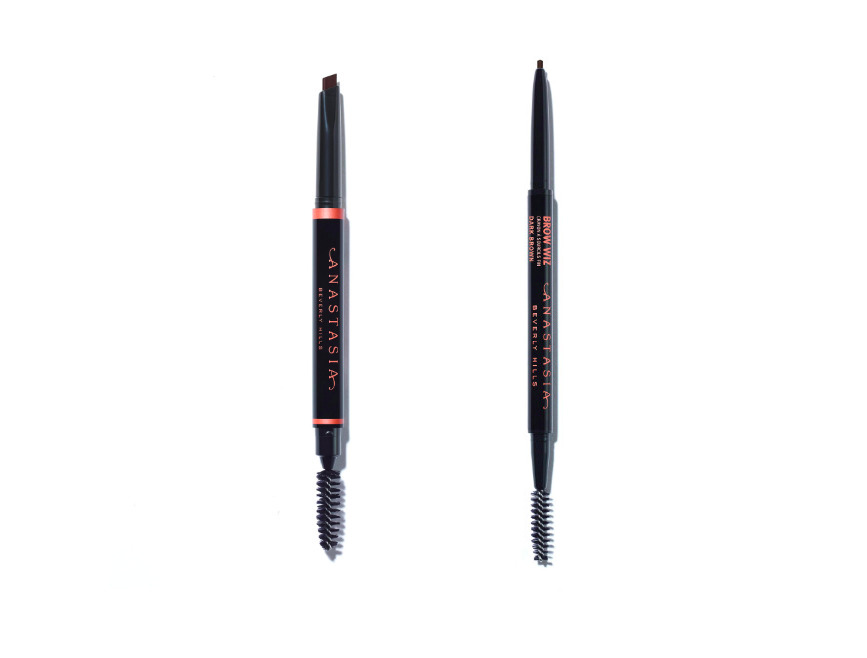 Anastasia Beverly Hills Brow Wiz (or Brow Definer) - I use these two products pretty interchangeably depending on which I have on hand, since I like both. The Brow Wiz is definitely better for drawing really precise lines, but the thick but tapered tip of the Brow Definer is also pretty easy to use when I'm in a rush and need to fill in my brows quickly. My eyebrows are really the only thing on my face that I use makeup on every day since I have big gaps in my eyebrows – personally, I think I look pretty weird without full brows.