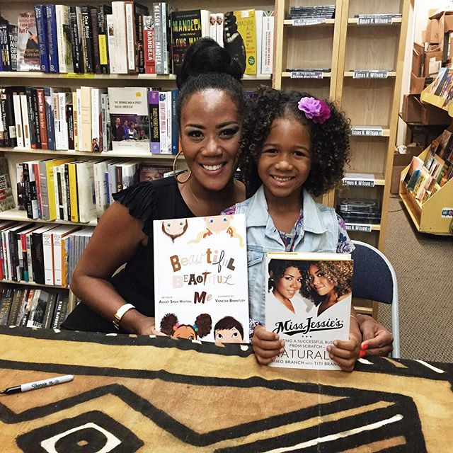 @_amirahlee and @mikobranch at the @miss_jessies book signing. #titbranch #missjessies @harpercollinsus