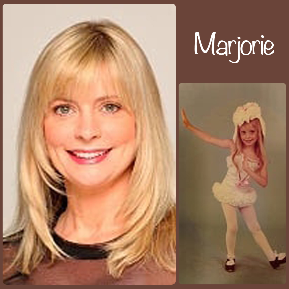 "Marjorie Stewart SoS Title: Rehearsal Coordinator/Dancer Home Town: Middletown, NY ""Real Life"" I.D.: Paralegal at the Walt Disney Company Age Started Dancing: 4 Favorite Dance Memory: Spending a summer performing at the Surflight Theatre. A beach-side summer stock theater in Beach Haven, NJ on Long Beach Island (LBI) at the Jersey Shore. The season included the shows: Sweet Charity, Grand Hotel, Promises Promises, Pinocchio and The Sound of Music :-) Fun Fact: I ran away with the circus! I was a dancer in Ringling Bros.& Barnum and Baily Circus 125th Anniversary Tour and performed in 24 arenas in the US and lived on the circus train :-)"