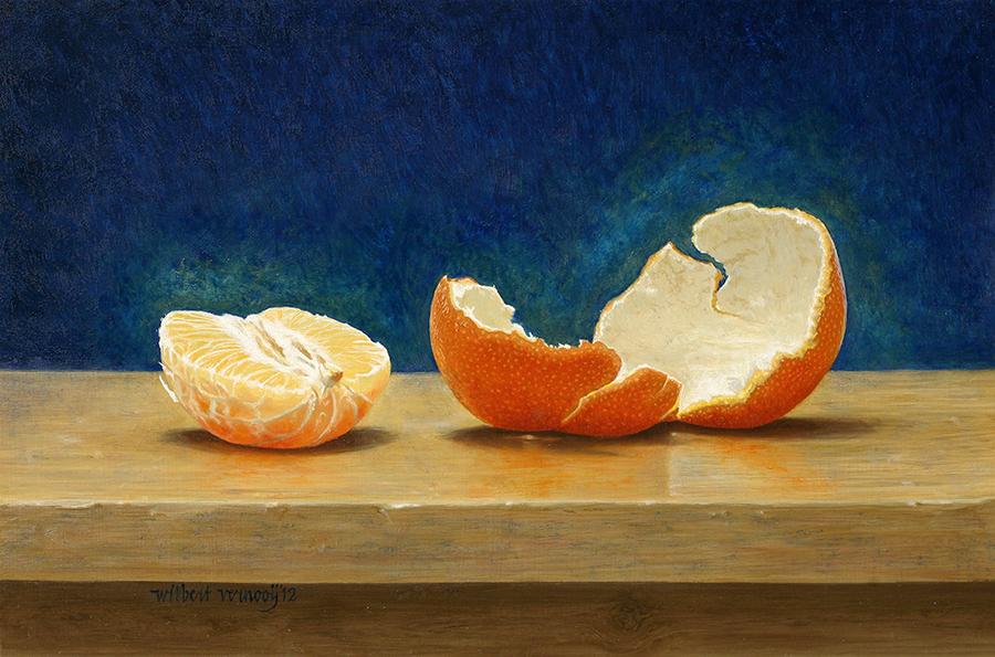 Half appeltje van oranje | Half apple of orange