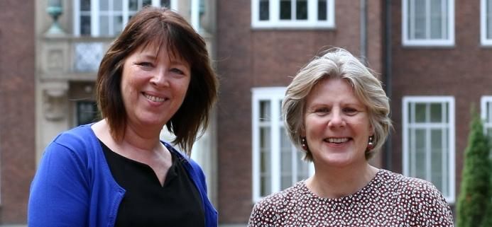 Agnes van Gaalen en Liesbeth Rusch zijn al jaren collega's en startten naast hun baan bij de gemeente Alphen aan den Rijn het bureau 'Loopbaan in Balans'