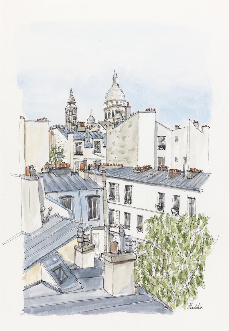 Toits de Montmartre.