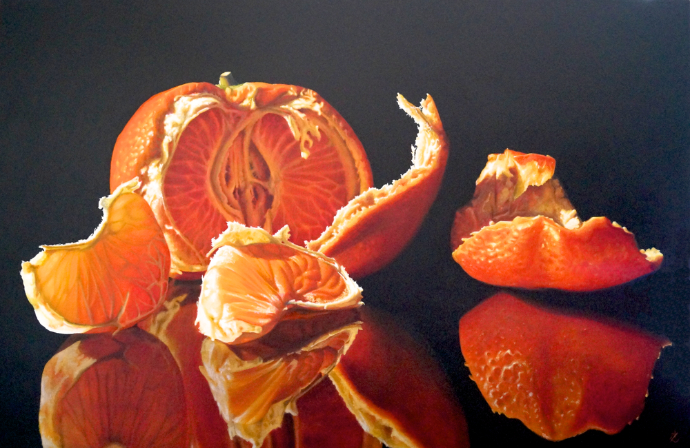 Mandarin 5 Oil on Canvas 67 x 102cm