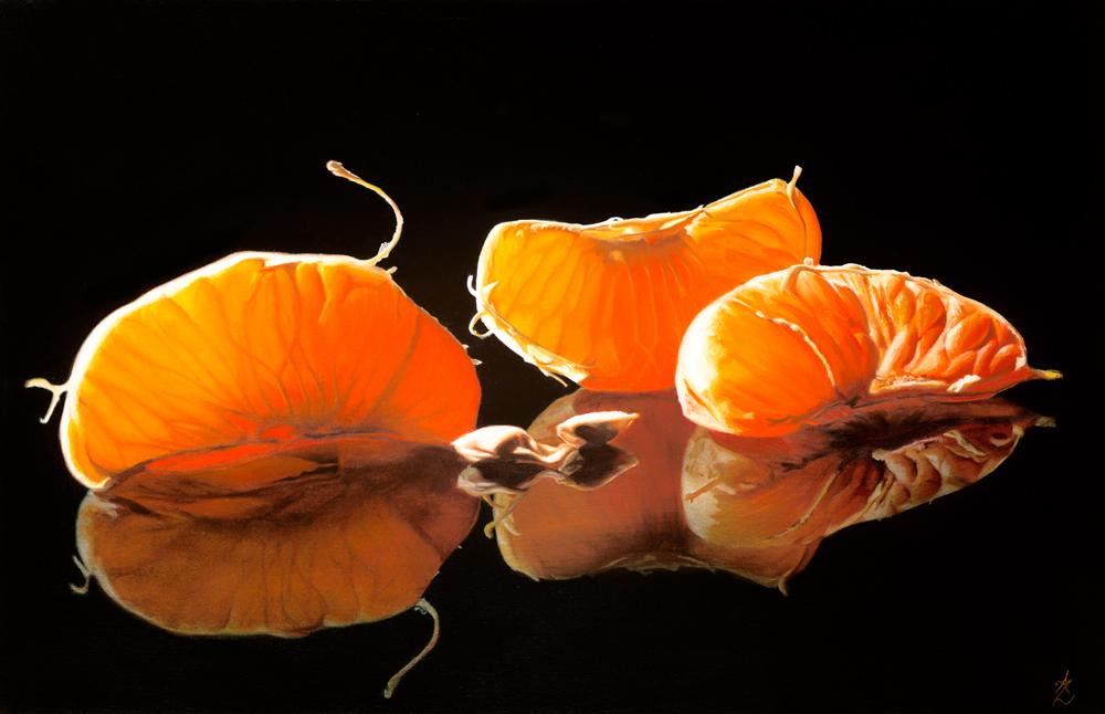 Mandarin pieces