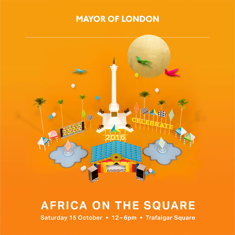 Participated as a Key   Street Food  C  aterer, providing food for 1000's   in Africa On The Square Food in Trafalgar Square  in October 2016