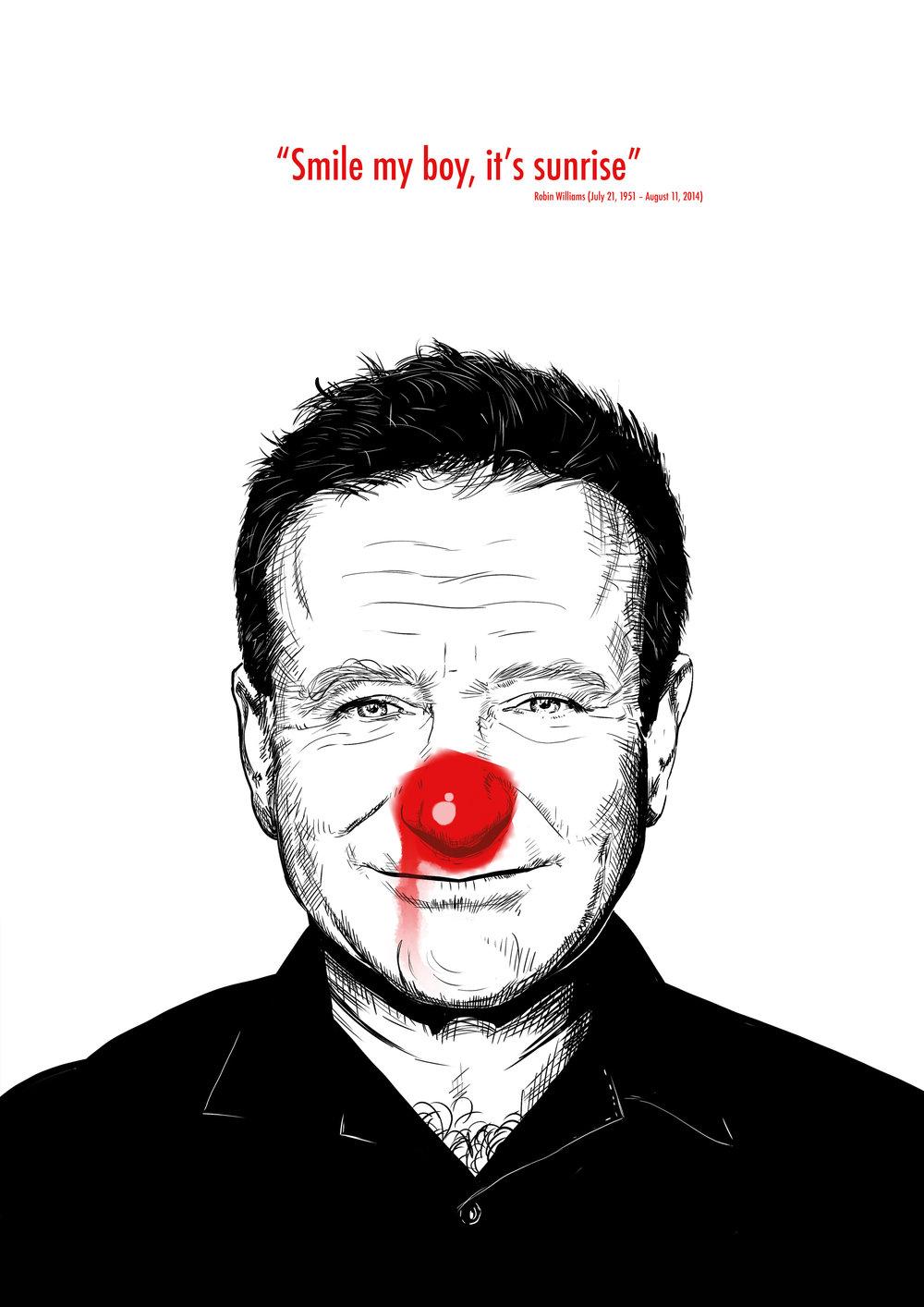 Robin Williams - Smile my boy, it's sunrise