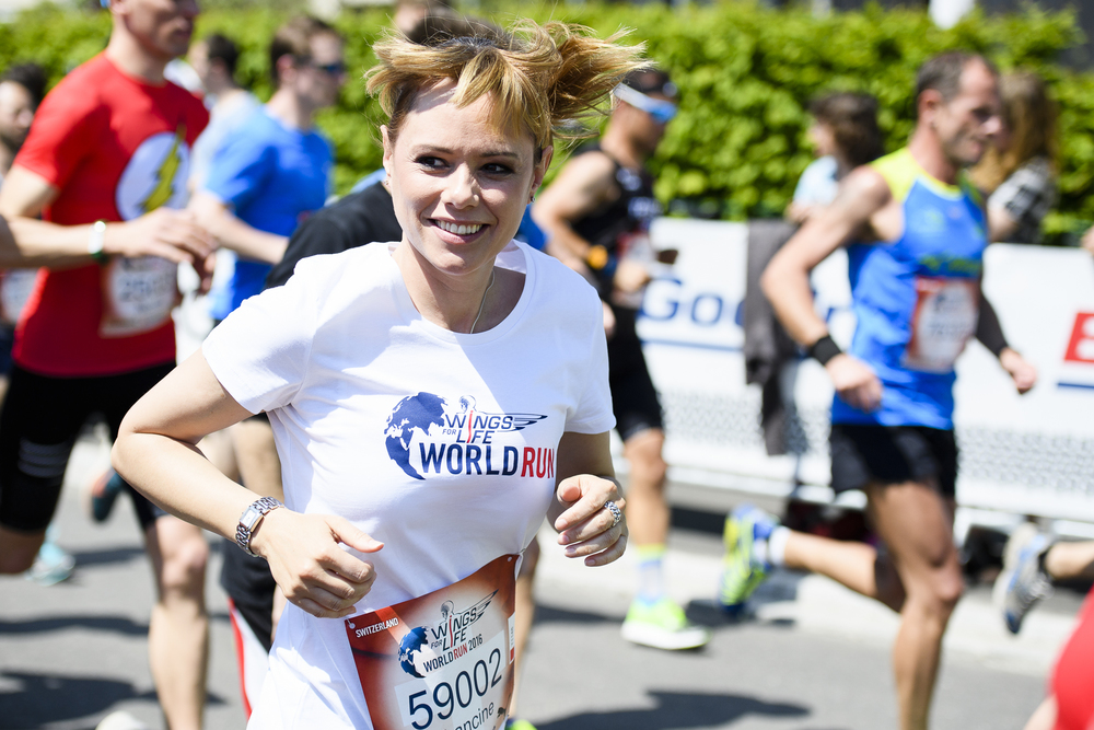 SCHWEIZ CHARITY WINGS FOR LIFE RUN