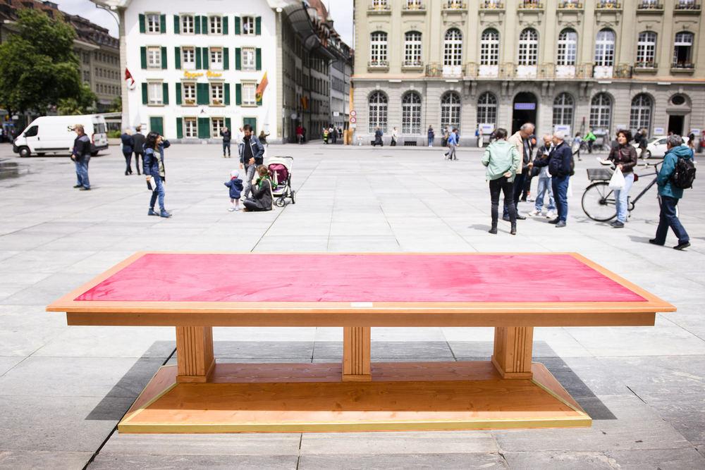 SWITZERLAND VERTRAG VON LAUSANNE TISCH BERN