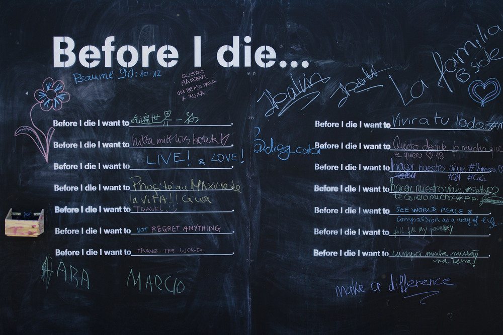 SWITZERLAND ART PROJECT BEFORE I DIE