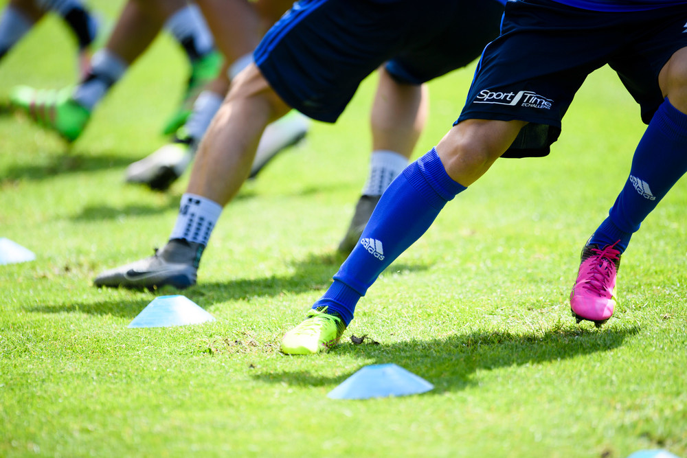SUISSE FOOTBALL TRAINING LAUSANNE SPORT