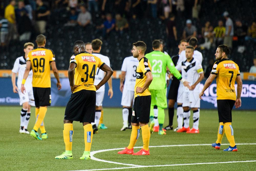 SCHWEIZ FUSSBALL BSC YB FC LUGANO
