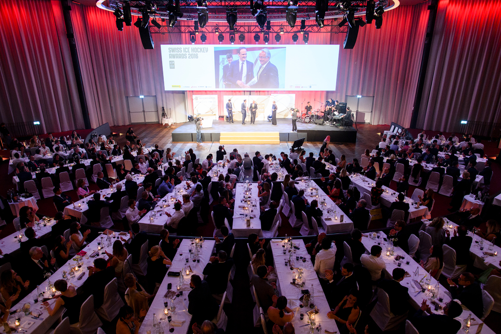 SCHWEIZ SWISS ICE HOCKEY AWARDS 2016