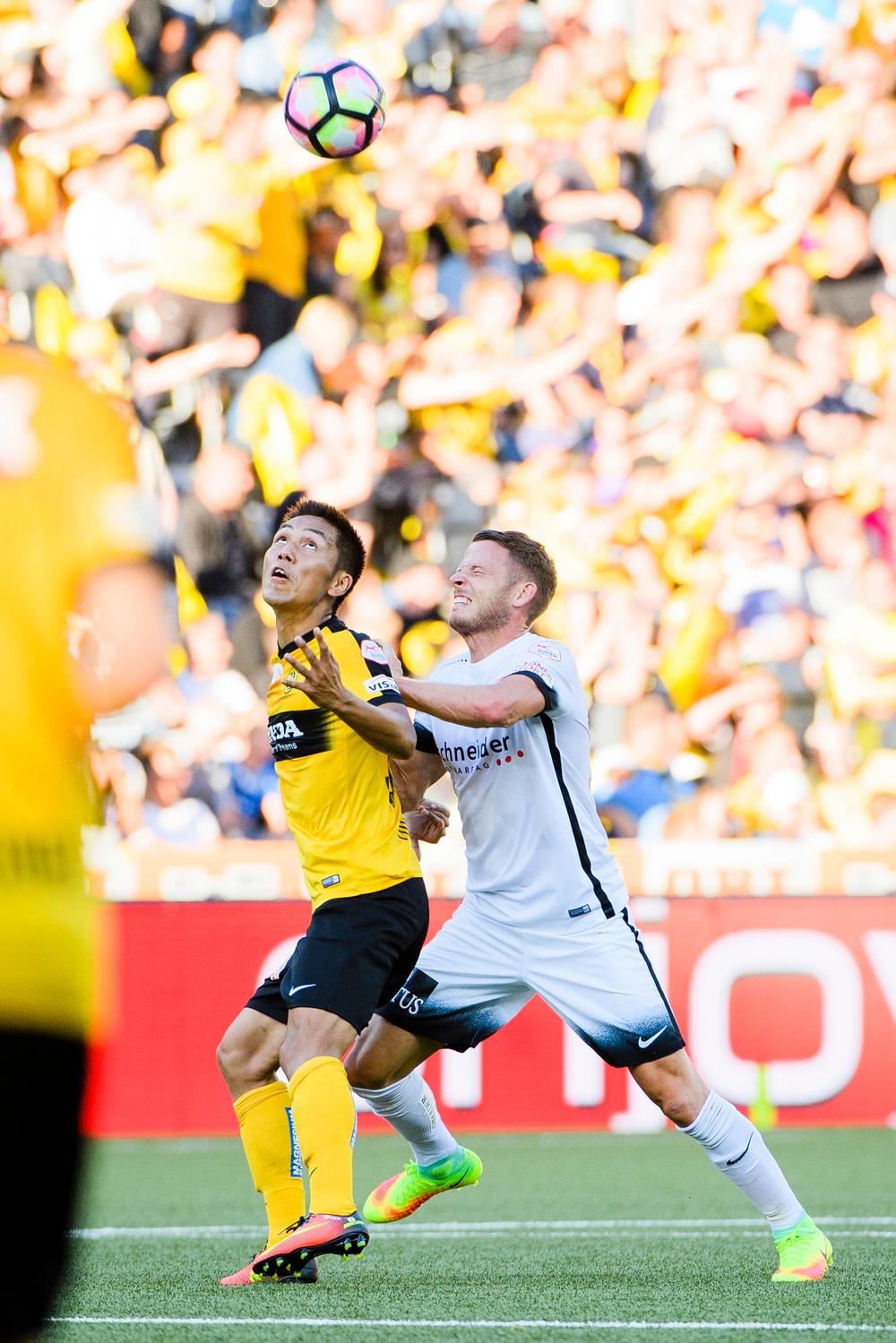 SCHWEIZ FUSSBALL BSC YB FC THUN