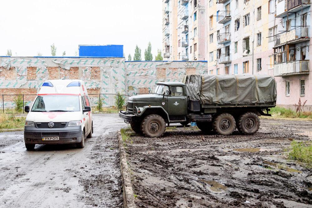 SCHWEIZ MEDIENREISE OSCE SPECIAL MONITORING MISSION UKRAINE