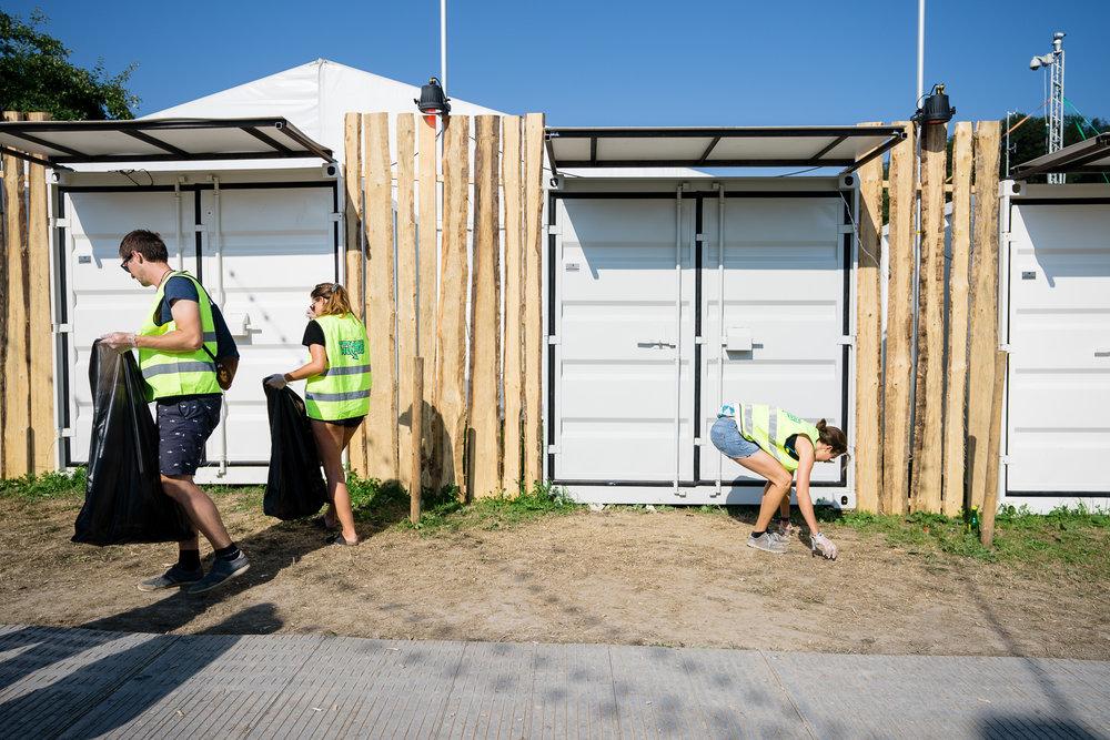 Trash Heros auf  am OpenAir St.Gallen