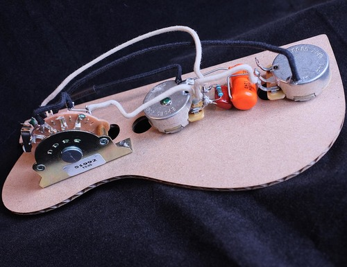 Telecaster Wiring loom — Bloodstone GuitarWorks