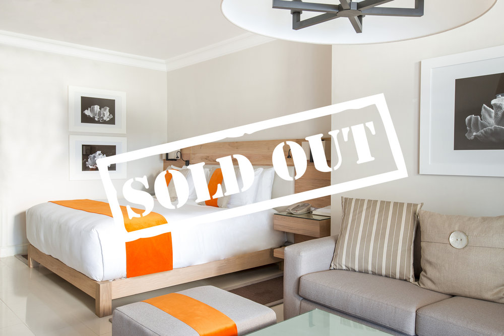 FAMILY SUITE - SOLD OUT!    FOUR GUESTS PER SUITE   120 Square Meter Suite with King Bed and 2 single beds. Interconnecting Junior suites; simply perfect for families and friends on a beach holiday. This suite caters for four guests.   To reserve your suite today please enquire below.