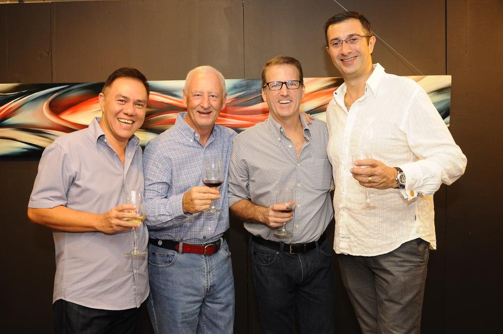 L to R - Erwin Siao, Bob Oliver, Gregg Huettel and Marco Anzani.JPG