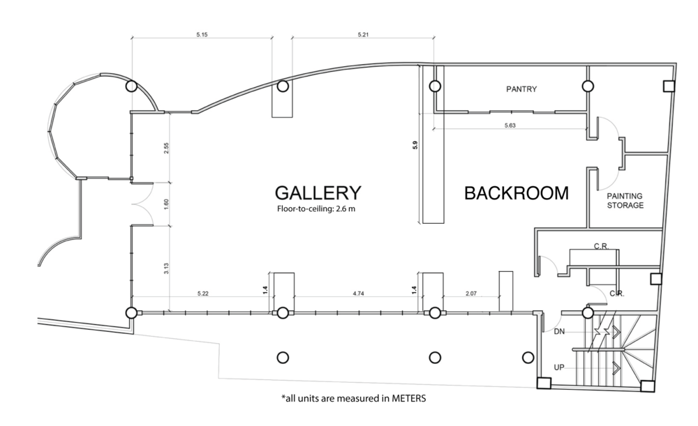 Gallery Layout and Dimensions