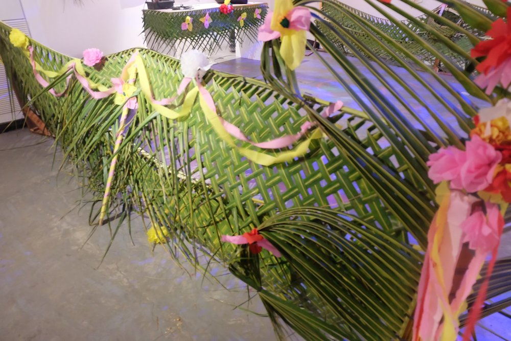 Diskoral Installation Details, an exhibition by Tropical Futures in collaboration with Ronyel Compra.