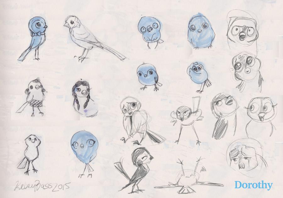 Dorothy Sketches