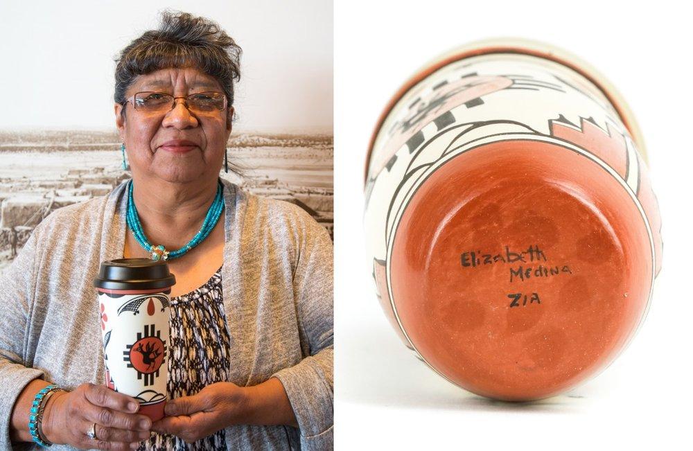 """Elizabeth Medina's Zia Pottery"" Jan 16, 2017"