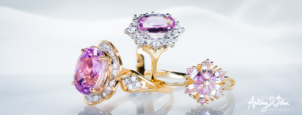Jewellery photography for Shipton & Co...