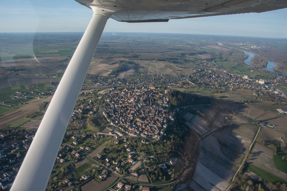 Sancerre from the air!